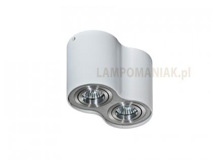 Lampa  Bross 2 White Aluminium