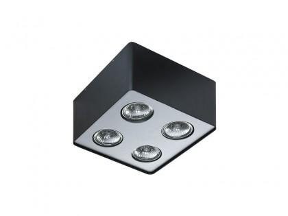 Lampa techniczna Nino 4 Black