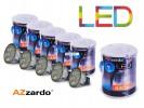 Zestaw 5szt. żarówek LED 7W MR16